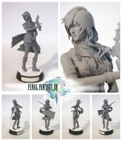 Final Fantasy XIII Lightning by ImJustMe
