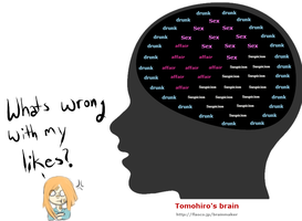 Tomo's Brain by LittleChiChi