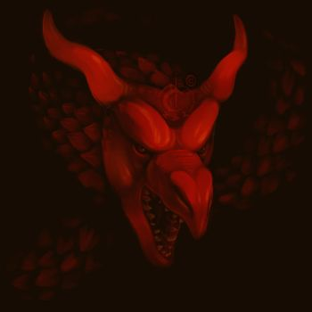 Dragon Head - red by Novarock