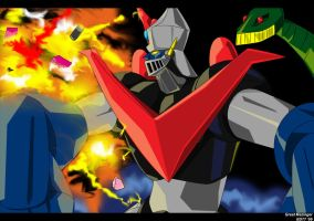 Great Mazinger by blackdove77
