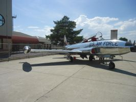 Lockheed T-33 Shooting Star trainer by GeneralTate