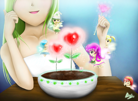 Fairies Focus: iPad Drawing by shiori2525