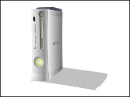 Xbox 360 by marcrigg