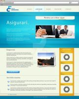 Insurance Website by mece888