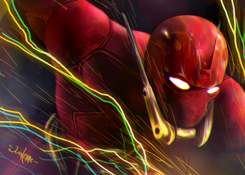 The Flash (Elseworlds) by junkome