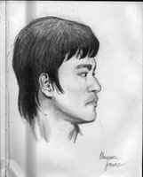bruce lee 4 by juicethehedgehog