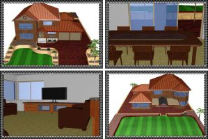 MMD House Environment (Request) (DL) by arisumatio