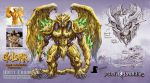 Goldar redesign - Power Rangers by KaijuSamurai