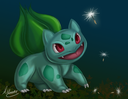 Bulbasaur Speedpaint by SonARTic