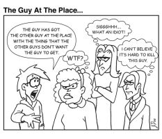 The Guy At The Place... by wotchertonks7