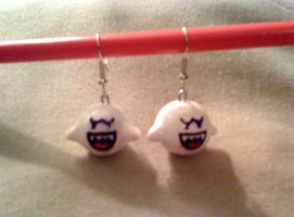 Boo Earrings by Red-Flare
