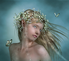 The Elven Bride by PaperDreamerArt