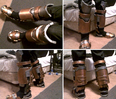 Engineering Suit - Boots and Leg Armor by Suoitnev