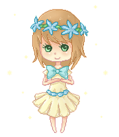 Pixel Page Doll for Reikiichi by riabi