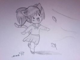 Chibi Girl - I want to Fly by indiana779