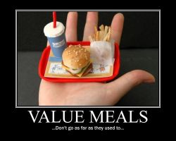 Value Meal Demotivational by NeonVictorian