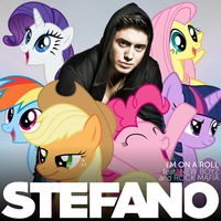 Stefano Langone - I'm on a Roll (My Little Pony) by AdrianImpalaMata