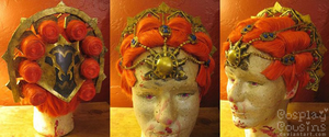 Zelda Twilight Princess Ganondorf Wig by CosplayCousins