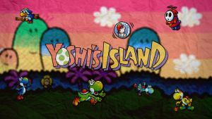 Yoshi's Island | Wallpaper by Squiddytron