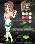 FNAF2 - 'Baby-Doll' The Yearning -Ref Sheet- by HealerCharm