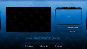 Streamity.gg - Waiting Screen (Package) - #005 by streamity