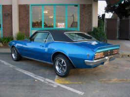 blue Pontiac Firebird 400 by Partywave