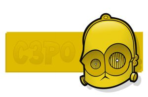 Heads Up C3PO by HeadsUpStudios