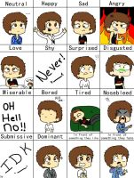 Lewe's Expressions by TanTeTOONS
