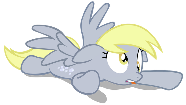 Derpy Crashed On the Ground by YoshiGreenwater