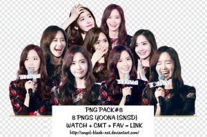 [PNG Pack#8 - SNSD] YOONA by Angel-Black-Cat