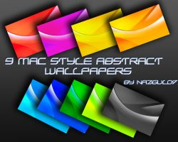 9 Abstract Mac-ish wallpapers by nazgul07