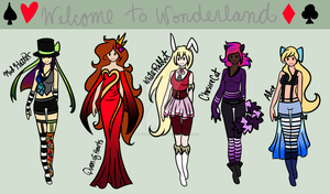 Welcome To Wonderland (Adopts) by moonlitblackcat