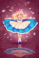 Alice in Wonderland by Lollypopsnbows