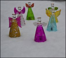 Angels in the Snow by FrankAndCarySTOCK