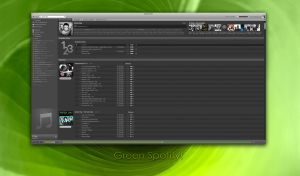 Green Spotify by NG78