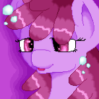 Berry Punch Pixel Portrait by robynneski