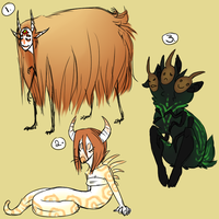 Monster adopts by eco226