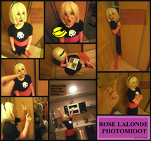 Rose Lalonde Photo shoot by LadyOf7Sins