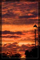 Sunset Lamp by Delusionist