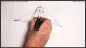 Learn how to draw three point perspective 006 by drawingcourse