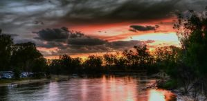 Paradise Beach On The Murray at Cobram/Barooga by djzontheball