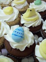 Easter Cupcakes 2 by see-through-silence