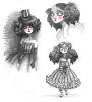 Goth lolita designs by kyla79