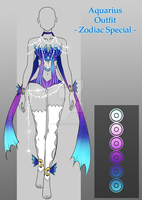 Outfit Adopt Aquarius (closed) by CherrysDesigns
