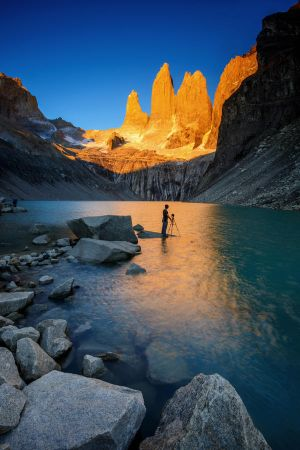 The Towers from Torres del Paine by porbital