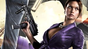 Saints Row IV  Hot Chick by vgwallpapers