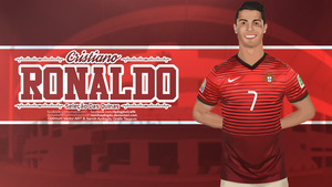 Cristiano Ronaldo | Vector  Wallpaper Work by SemihAydogdu