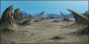 Landscapes Practice Lecture1 by Calaymo