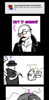 Sexual Offenderman tumblr question by arcanineryu