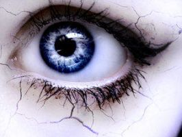 Sallow skin and permeant eyes by Creative-Eyes